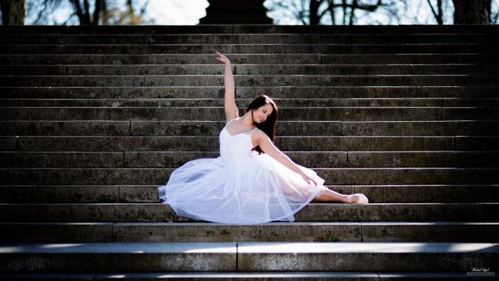 Street Ballett Fotoshooting mit Nicky Wieland