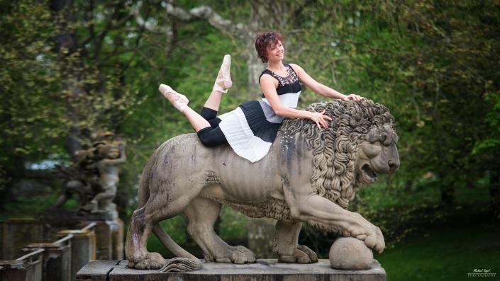 Street Ballett Fotoshooting mit Christiane - miigaafiredance