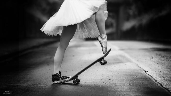 Street Ballett Fotoshooting mit Natalie Muth - Ballett Atelier Boos