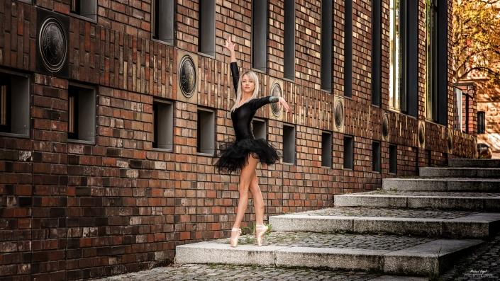 Street Ballett Fotoshooting mit Juli Grace