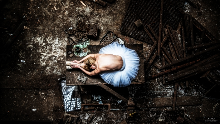 Lost Place Ballett Fotoshooting mit Fanny Müller