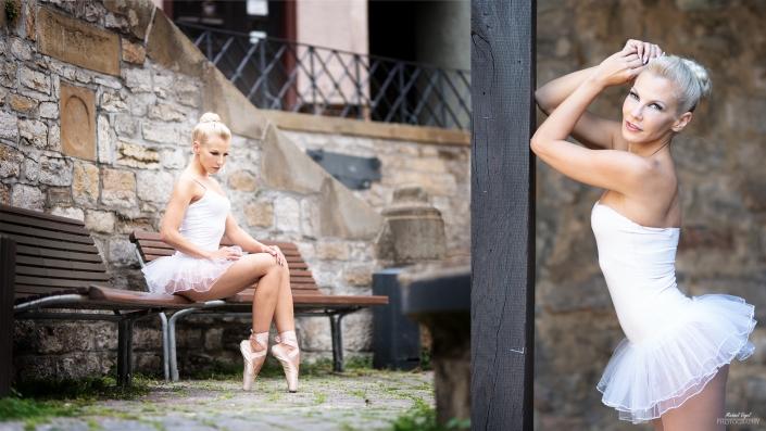 Street Ballett Fotoshooting mit Sandra Libertine